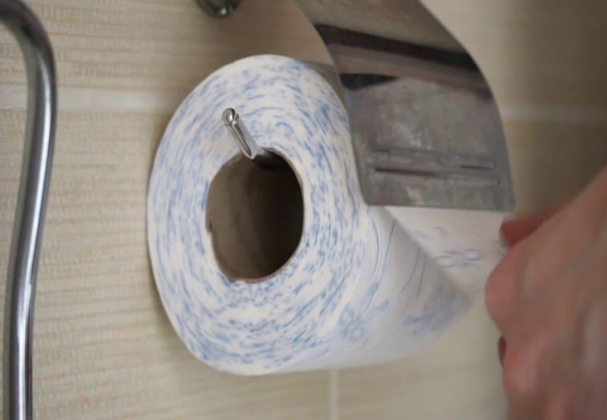 jenis tisu toilet