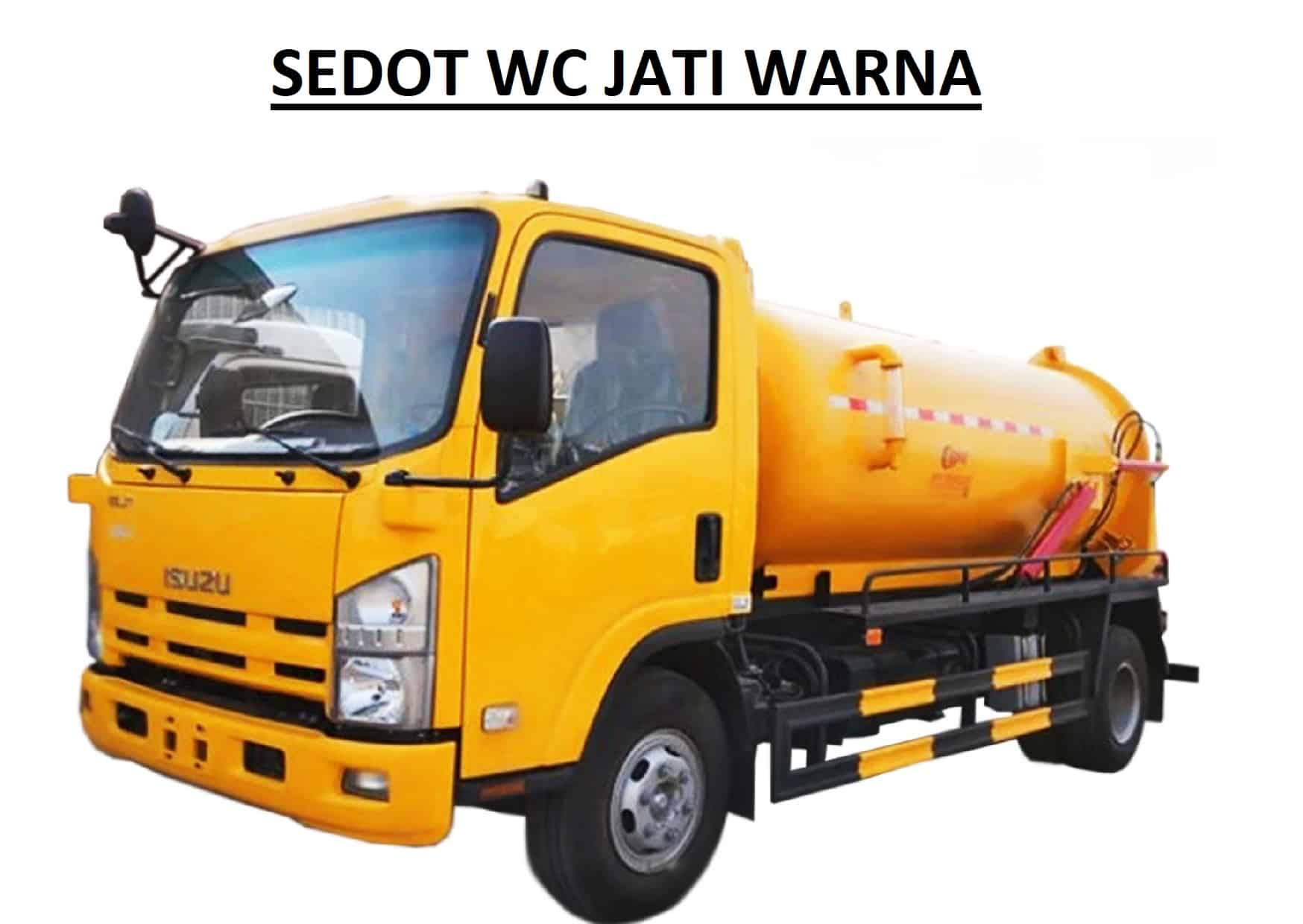 Sedot WC Jati Warna