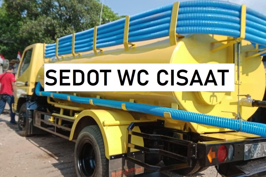 Sedot wc Cisaat