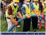 Sedot WC Pulo Gadung-Pemerintah mendukung sedot wc rutin