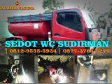 Sedot wc Sudirman
